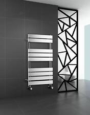 Designer Chrome Vertical Towel Rail Central Heating Bathroom Radiator 1000 x 600