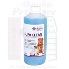 Heavy duty detergent / steriliser Disinfect dogs kennels surfaces with SupaClean