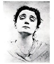 card ELEONORA DUSE Eleanora 🎭 Alyce Boughton photograph actress theater Italy