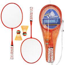 2Spieler BadmintonschläGer Federball Set Sport Spaß Garten Spiel FüR Kinder D8I6