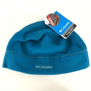 Columbia Thermarator Hat Beanie Fleece Omni-Heat Teal Blue Unisex L/XL