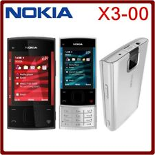 Nokia X Series X3-00 black silver (Unlocked) 3.2MP Cellular Phone