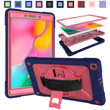Hybrid Silicone Protective Stand Case Cover For Samsung Galaxy Tab A 8.0 T290