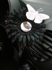 VW Beetle Flower - White and Black Diamond Daisy
