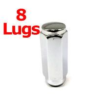 "8x Excalibur 3210HD Lug Nuts 9/16"" Acorn 7/8"" Hex 2.4"" HD Duplex XL XX Long"