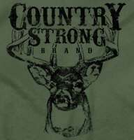 Country Strong Shirt Deer Hunting Western Cowgirl Rodeo Idea Hoodie