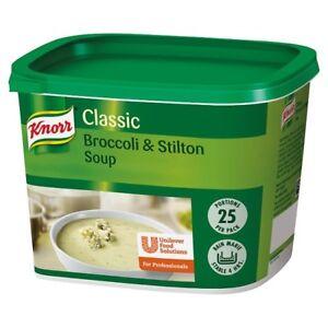 Knorr Classic Broccoli & Stilton Soup Mix 25 Portions