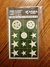 1/35- Tasca/Asuka Masking Sheet For U.S. Stars.