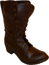 Women's Mid Heel (1.5-3 in.) Lace Up Combat Boots
