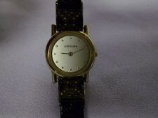 JUDITH JACK Sterling Silver /Marcasite / Onyx  Ladies Wrist Watch