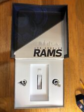 2017 LOS ANGELES RAMS PIN SET & TICKET BOX - SEASON TICKET HOLDER GIFT SGA