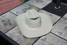 Vintage Bradford Western Hat 7 1/4  GRAY COLOR THE STELZIG ALL AROUND 5X BEAVER
