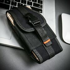 For iPhone 11 / iPhone 11 Pro Max Black Vertical Wallet Pouch Case Clip Holster