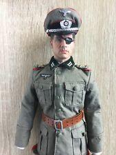 """CUSTOM WWII GERMAN COLONEL CLAUS VON STAUFFENBERG VALKYRIE 12"""" FIGURE DID 3R 1/6"""