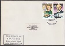 BR ANTARCTIC TERRITORY 1978 cover Royal Research Ship BRANSFIELD cachet.....T214