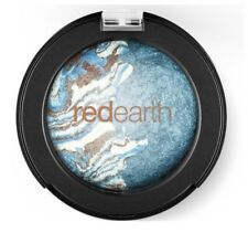 RED EARTH Baked Eye Shadow Duo 2.5g **Blue Tide** pearl shimmer NEW
