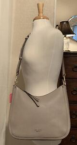 Kate Spade Roulette warm taupe large Hobo/Shoulder bag/Crossbody