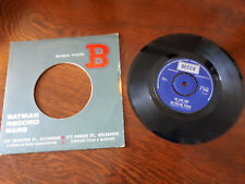"""THE LAST TIME/PLAY WITH FIRE THE ROLLING STONES 7"""" 45 E.P.1965. DECCA. F-12104"""