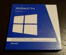 NEW Microsoft Windows 8.1 Pro Full Version FQC-06913 Retail Package 32 & 64 bit