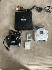 Sega Dreamcast Launch Edition Black Console (NTSC) With Memory Cards