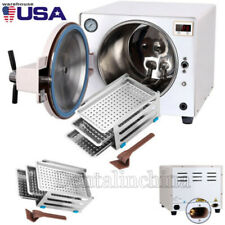 18liter Dental Autoclave Sterilizer Medical Steam Sterilization Lab Equipment Us