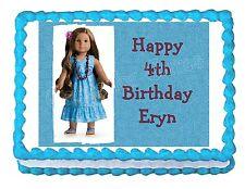 American Girl Kanani edible cake image cake topper party decoration