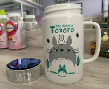 Totoro Travel Mug With Lid ~ Japanese Anime Character
