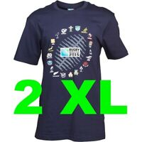 England Rugby World Cup 2015 Mens Boys T Shirt Tee 2 XL 2XL XXL RWC 20 Nations