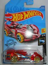 2020 Hot Wheels ~ Red ~ Power Rocket ~ X- Raycers 9/10 ~ Card 48/250
