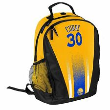 Stephen Steph Curry #30 Warriors Jersey Backpack gym Book Bag NBA PRIMETIME