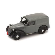 FIAT 1100 E FURGONE 1947-48 GRIGIO/NERO 1:43 Brumm Auto Stradali Die Cast