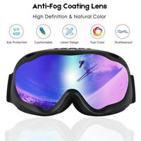Outdoor Sports Ski Glasses Snowboard Goggles with Anti-slip Adjustable Straps