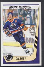 Panini 1989-1990 NHL Ice Hockey Sticker No 74 - Mark Messier - Oilers