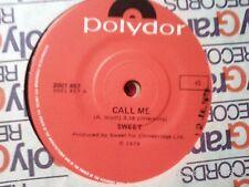 SWEET-CALL ME.7'' SINGLE