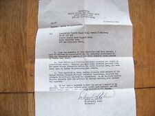 Military Police Korea 1965 Letter of Appreciation, Military Pay Voucher Photo