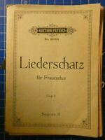 Edition Peters Liederschatz für Frauenchor No.2606b H8238