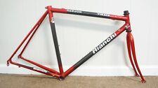 RARE EDOARDO BIANCHI Virata Carbon Frame set 53cm, Steel lugs Ritchey, Road bike