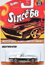 HOT WHEELS SINCE 68 MUSCLE CARS '64 CHEVY CORVETTE STING RAY #6/10