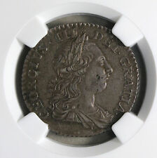 1763 Northumberland  Shilling - George III Silver NGC AU53 Rare Coin S. 3742