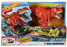Hot Wheels T-Rex Rampage Playset - New
