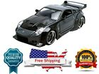 Diecast Model Car DKs Nissan 350Z Black Fast n Furious 1/24 Scale by Jada