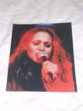 RARE Fiona Apple signed autographed original photo picture Criminal HTF 2004