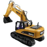 US RC Construction Truck Excavator Digger Remote Control Bulldozer Kids Car Toys
