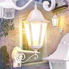 Bewegungsmelder Außen Wand Beleuchtung weiß Veranda Garten Hof Terrassen Lampen