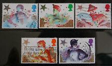 GB QEII 1985 set SG1303-7 Christmas. Pantomime Characters