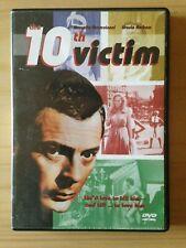 10th Victim DVD 2001 Andress Mastroianni Italo dystopian sci-fi w/Insert RARE NM