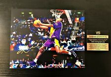 Kobe Bryant Dunking Signed Autograph 8x10 Photo w/ COA Los Angeles Lakers