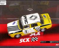 SCX Scalextric Renault 8 TS Rally Talavera Slot Car 1/32 A10069