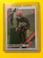 🔥🔥2019 DONRUSS OPTIC GREEDY WILLIAMS ROOKIE Base RC #122 Cleveland Browns