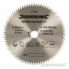 5 pzas Silverline 228224 ST101B Cuchillas de sierra de calar para madera